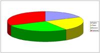 Microsoft Excel cirkeldiagram